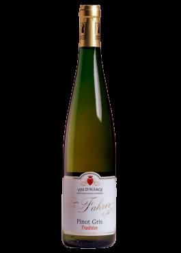 Bouteille de Pinot Gris Tradition, un vin apéritif.