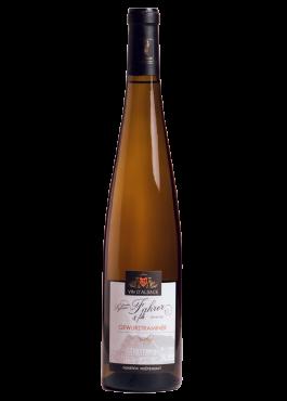 Bouteille de Gewurztraminer Prestige, vin moelleux.