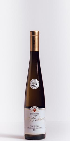 Bouteille Pinot Gris Sélection Grains Nobles