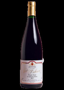 Bouteille de Pinot Noir Litre, vin rouge léger.